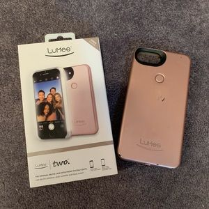 LuMee Two Rose Gold Phone Case